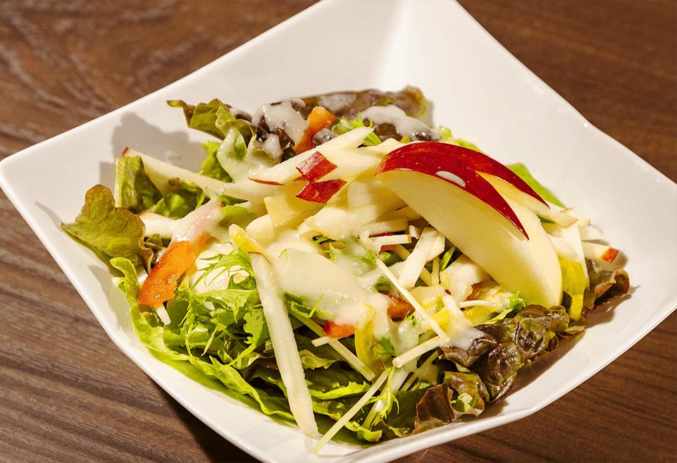 中目黒の焼肉りんご  サラダ・焼き野菜